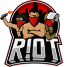 R!OT Gaming - logo