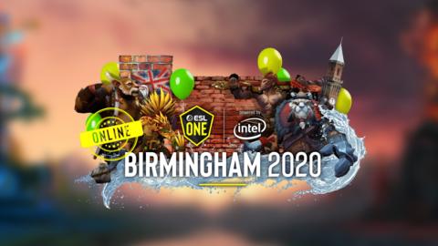 2020 ESL One Birmingham Online EU and CIS - logo