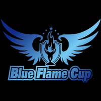 Blue Flame Cup - logo