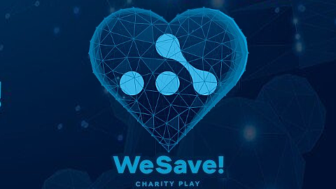WeSave! Charity Play - logo