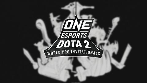 One Esports Dota 2 World Pro Invitational Singapore - logo